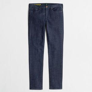 J CREW Skinny Toothpick Jeans in Midnight Wash 26